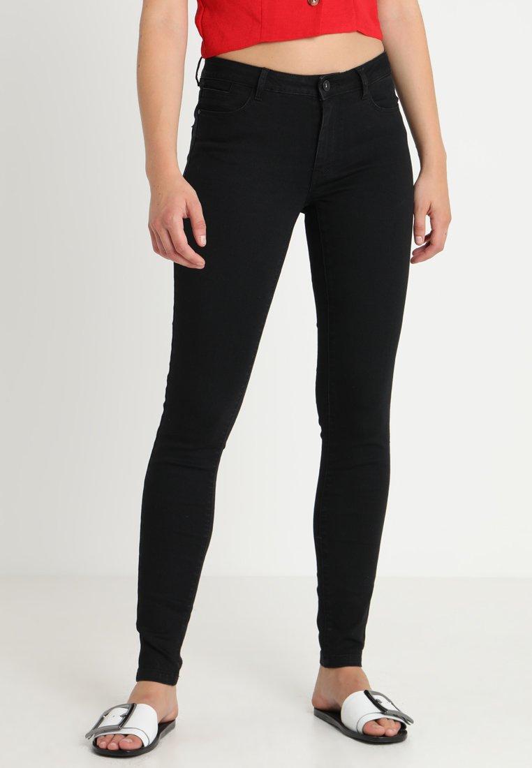 Vero Moda - VMJULIA FLEX IT MR SLIM JEGGING GU1 - Jeans Skinny Fit - black