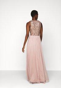 Lace & Beads Tall - PICASSO - Společenské šaty - mocha - 2