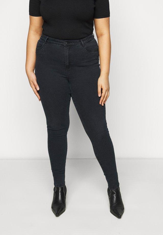 VMSOPHIA RHINESTONE  - Jeans Skinny Fit - black