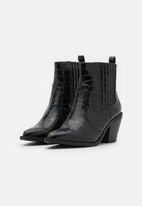 Glamorous Wide Fit - Kotníková obuv - black - 2