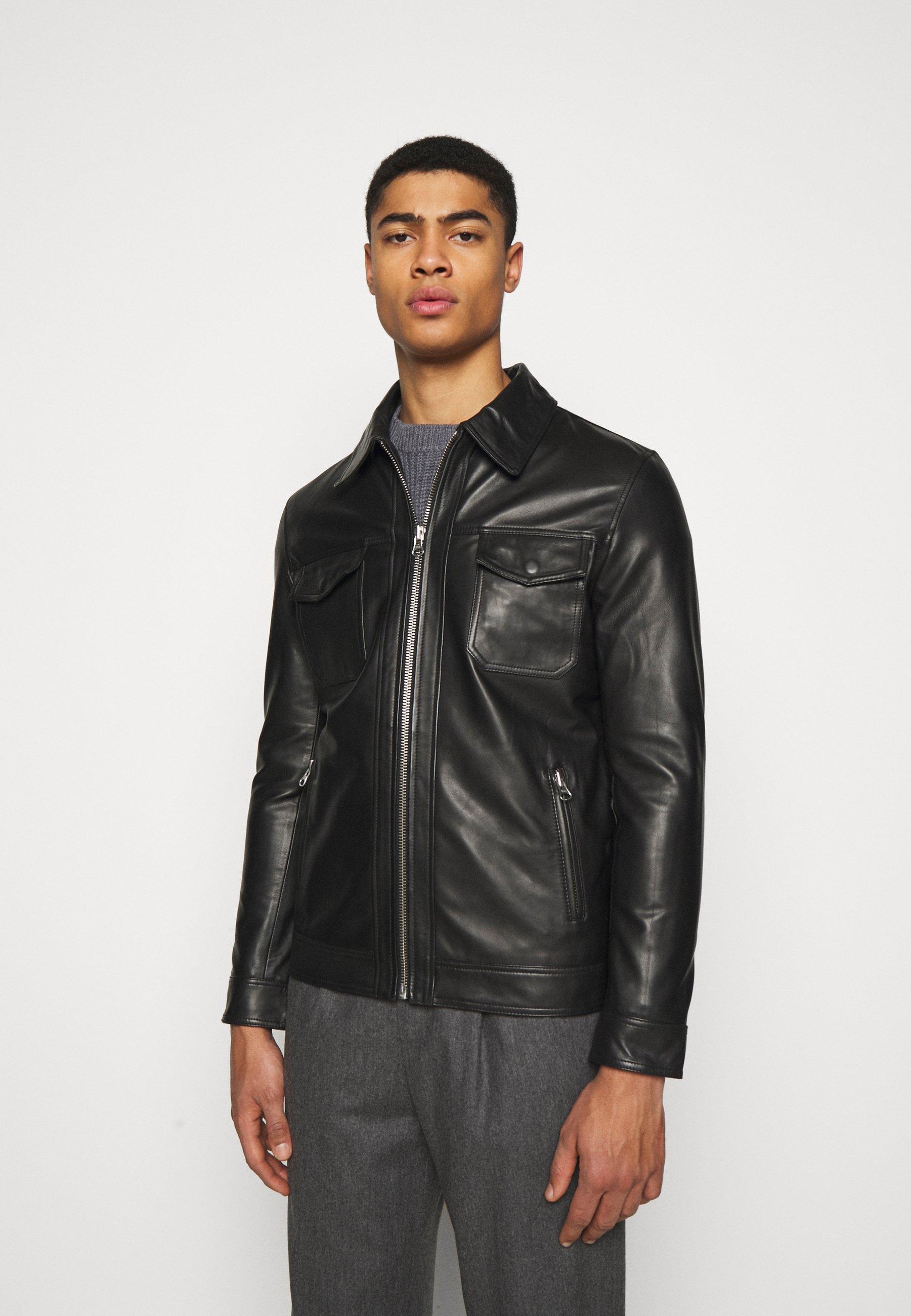 Men ARY  - Leather jacket
