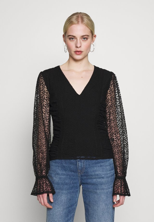 ODETTE - Blouse - black