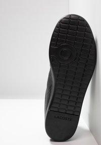Lacoste - CARNABY EVO LIGHT - Sneakers basse - black - 4