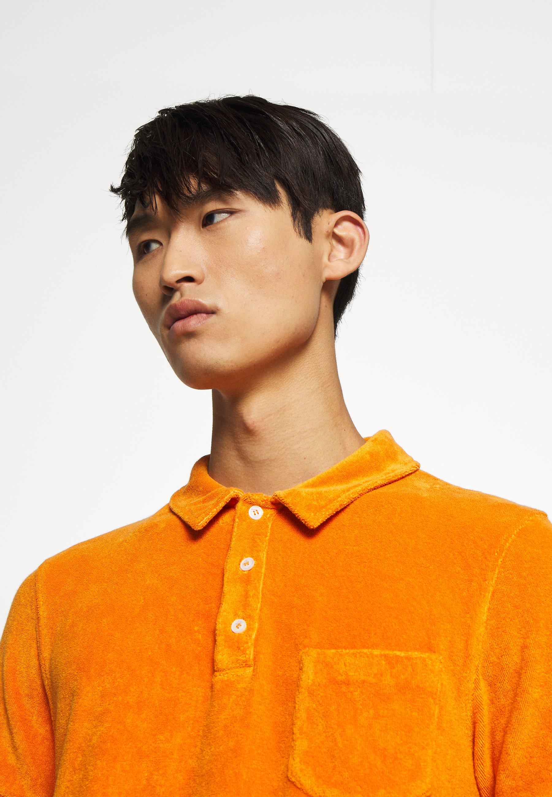CLOSED SHORT SLEEVE - Polo - tangerine