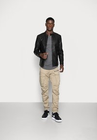 Only & Sons - ONSAL  - Faux leather jacket - black - 1