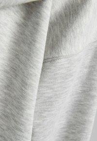 Bershka - OVERSIZE - Sweat à capuche zippé - grey - 4