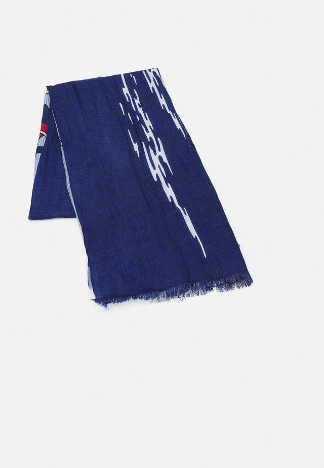Šátek - blue multi
