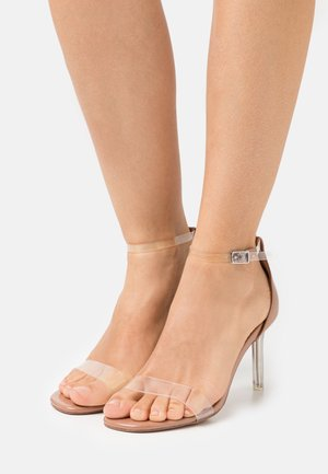 ELLA - High heeled sandals - clear