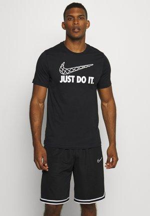 DRY TEE - T-shirt z nadrukiem - black