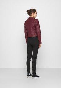 Morgan - GRAMMO - Faux leather jacket - bordeaux - 2