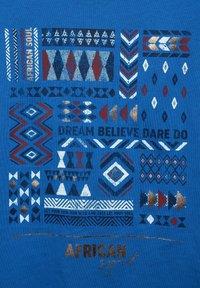 Cecil - MIT ETHNO-PRINT - Print T-shirt - blau - 4