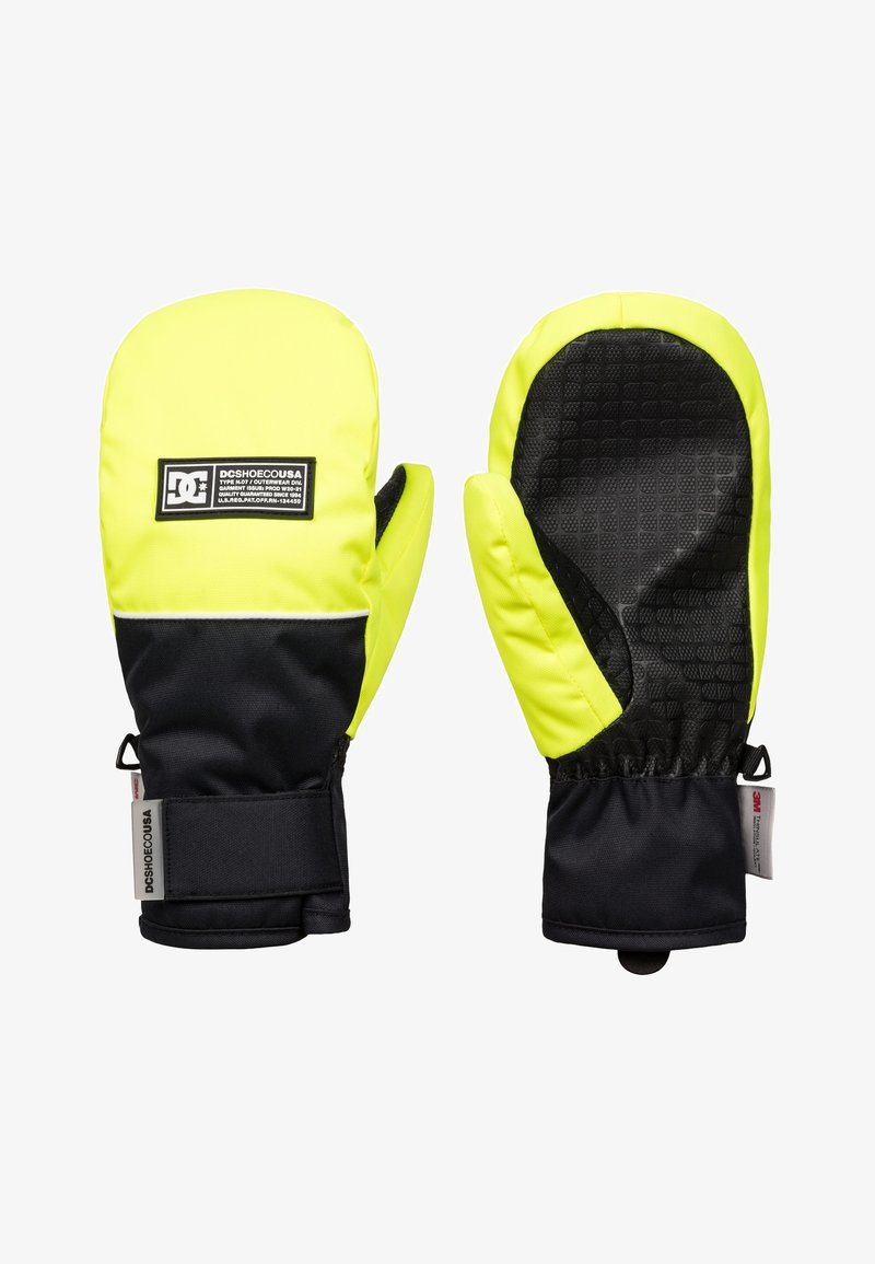 DC Shoes - Mittens - safety yellow