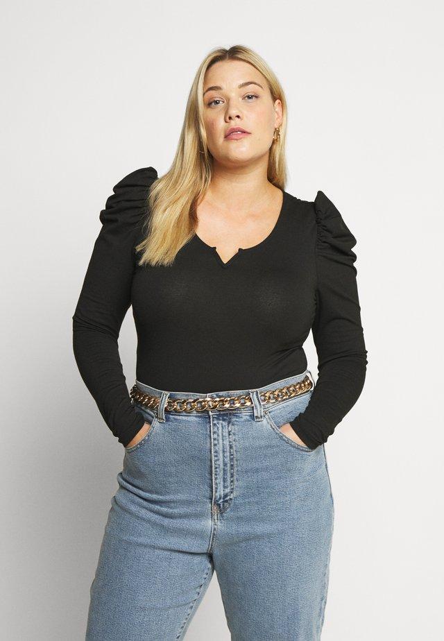 CARDREAM PUFF  - Bluzka z długim rękawem - black