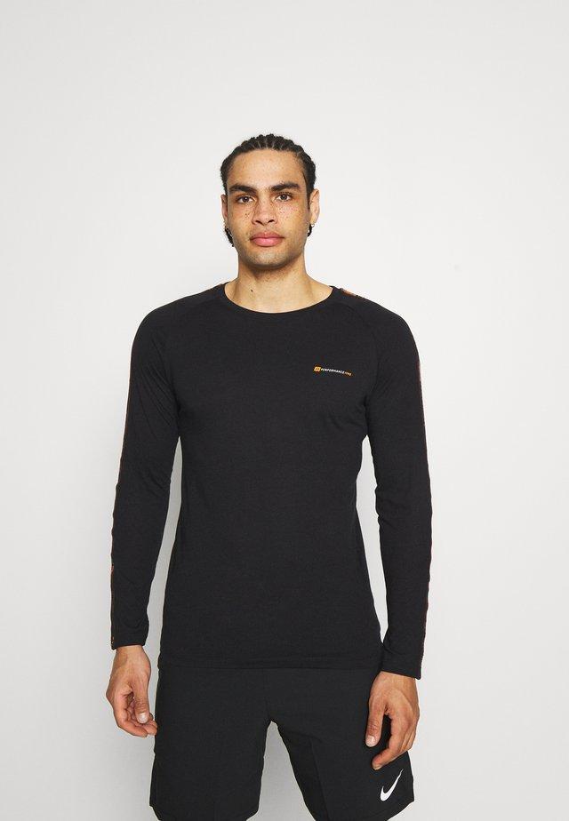 JCOFINN TEE  - T-shirt à manches longues - black
