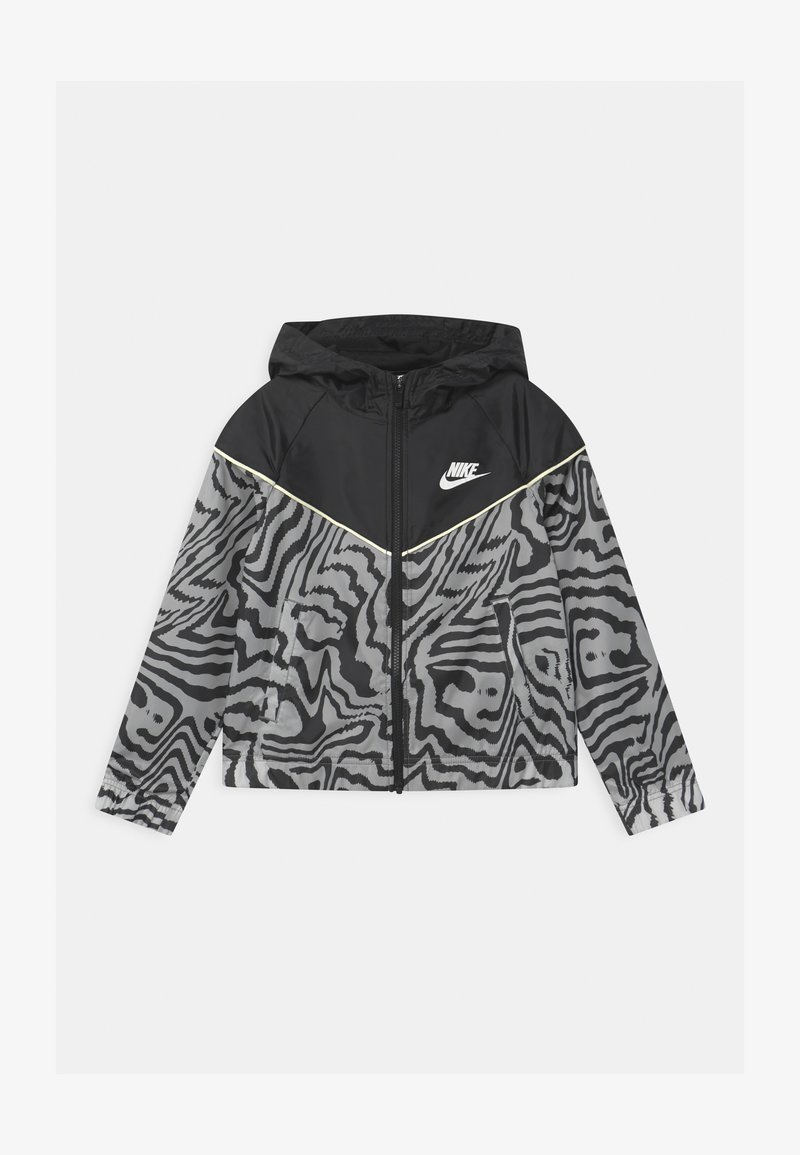 Nike Sportswear - WINDRUNNER  - Training jacket - black/coconut milk