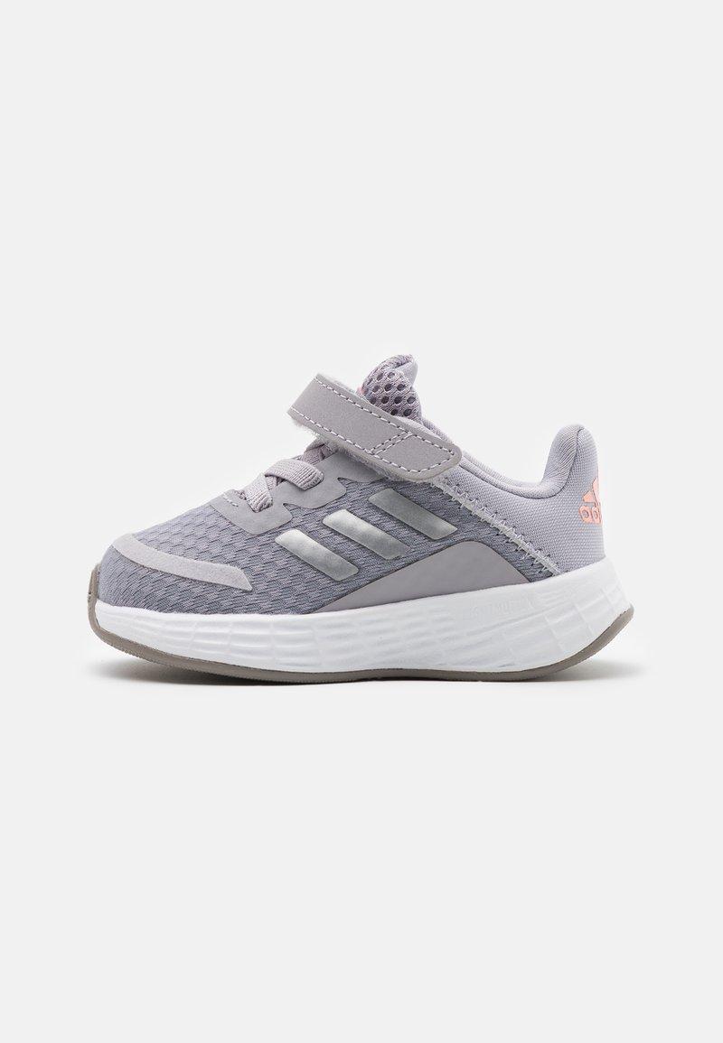 adidas Performance - DURAMO SL SHOES - Sports shoes - glory grey/silver metallic/light flash orange
