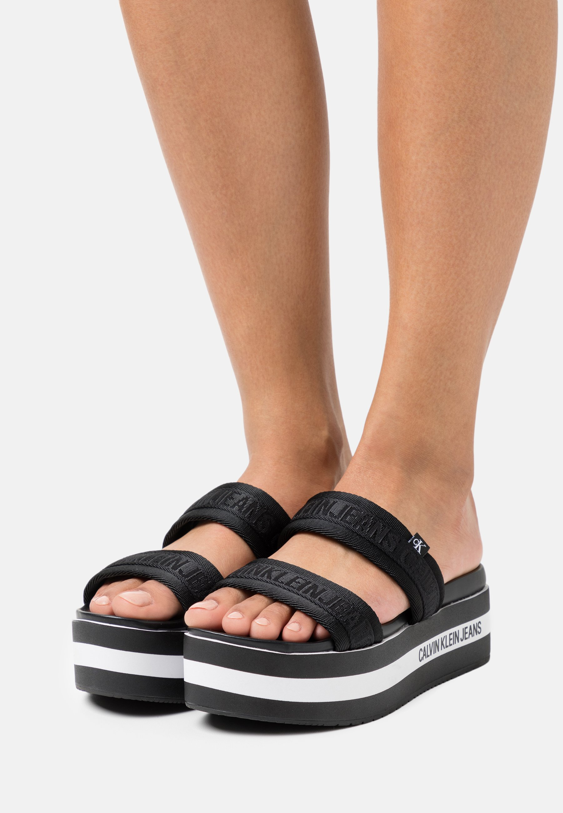 Women WEDGE TWOSTRAPS  - Heeled mules