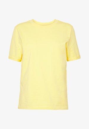 PCRIA FOLD UP TEE - T-shirts - lemon drop