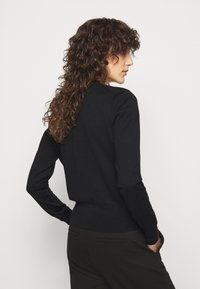 Polo Ralph Lauren - CARDIGAN LONG SLEEVE - Cardigan - black - 2