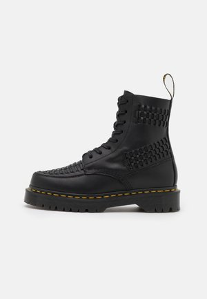 1460 BEX PASCAL 8 EYE BOOT - Lace-up ankle boots - black