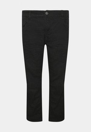 TWISTER FIT - Straight leg jeans - denim black