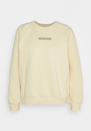 GRAPHICS CREW - Sweatshirt - yellow