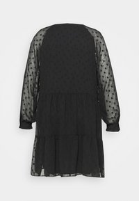 Pieces Curve - PCNUTSI DRESS - Cocktail dress / Party dress - black - 7