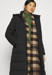 Calvin Klein Jeans - PEACHED LONG PUFFER - Winter coat - black - 4