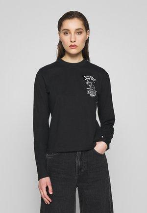 TWIZZLE LONG SLEEVE - Bluzka z długim rękawem - black