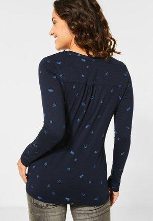 SYMBOLPRINT - Long sleeved top - blau