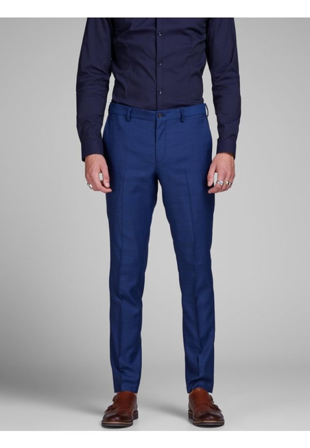JPRSOLARIS  - Pantalon - medieval blue