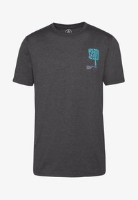Volcom - GROWN HTH SS - Camiseta estampada - anthracite - 5