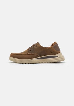 PROVEN - Šněrovací boty - dark brown