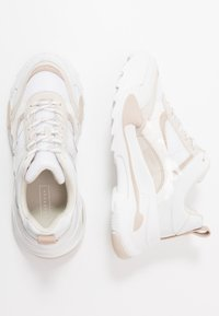 Topshop - CANDID CHUNKY TRAINER - Zapatillas - natural - 3