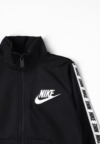 Nike Sportswear - NIKE BLOCK TAPING TRICOT SET - Tracksuit - black - 6