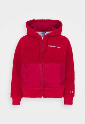 FULL ZIP ROCHESTER - Fleece jacket - red