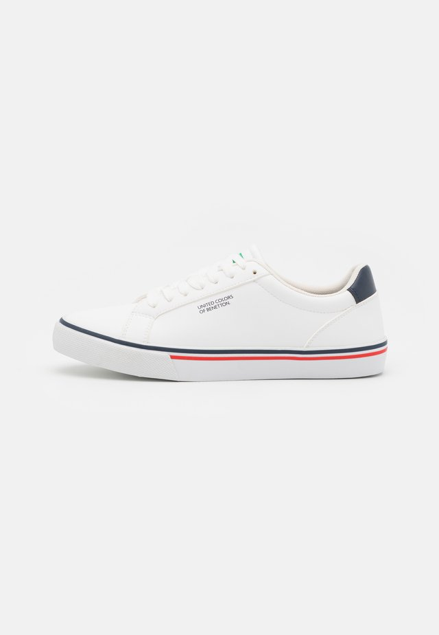 KING - Sneakers basse - white/navy