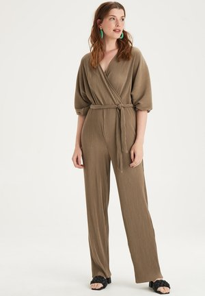 PEPPER JUMPSUIT - Jumpsuit - brown