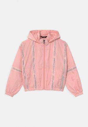 INSERT LOGO  - Light jacket - pink