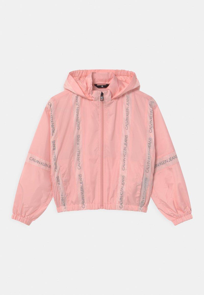 Calvin Klein Jeans - INSERT LOGO  - Light jacket - pink