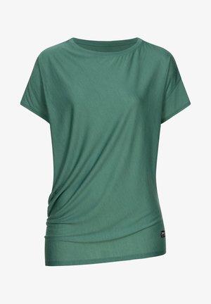YOGA - Print T-shirt - blau - grün