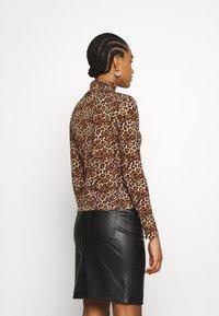 Monki - VANJA - Long sleeved top - brown - 2
