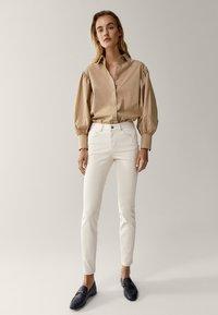 Massimo Dutti - Jeans Skinny Fit - white - 1