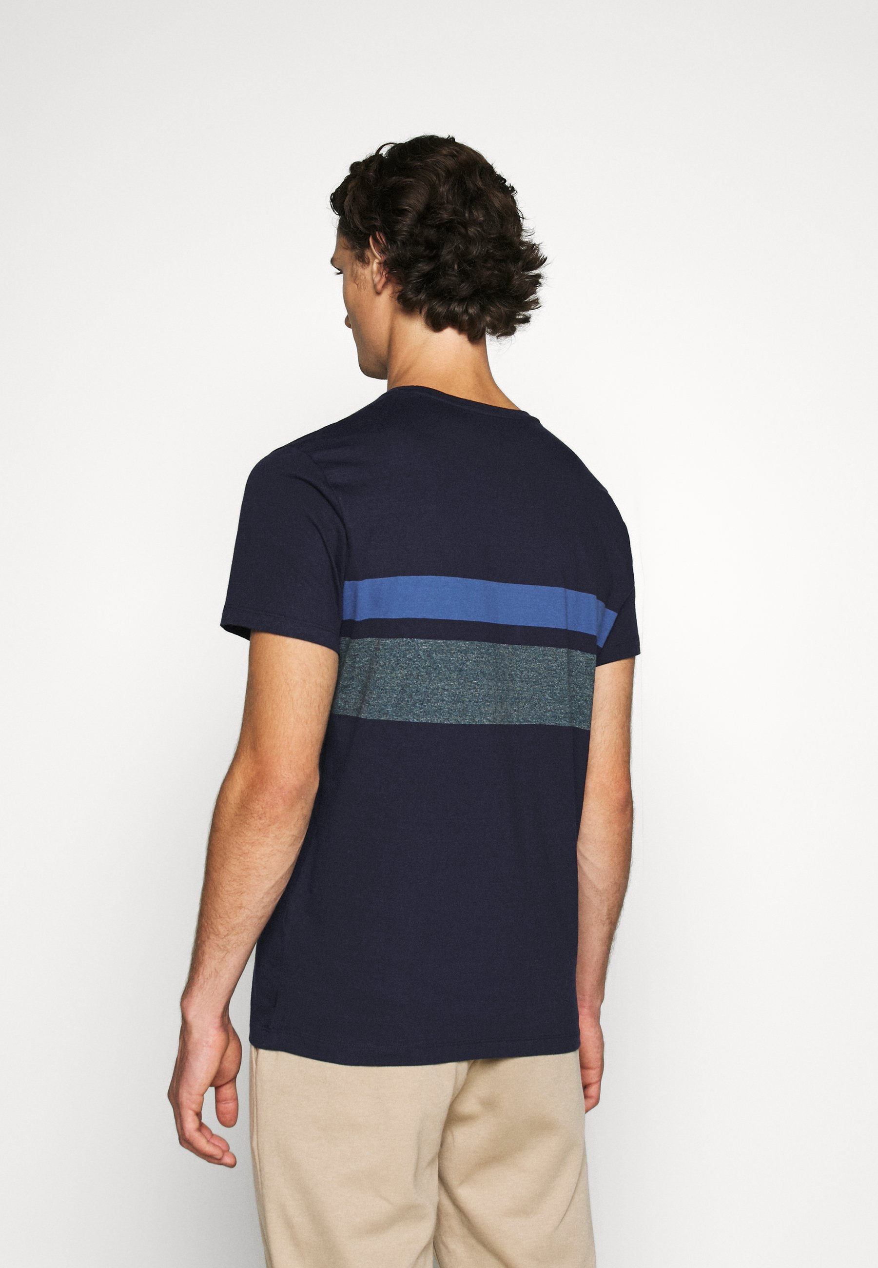 Esprit Print T-shirt - navy gCirX