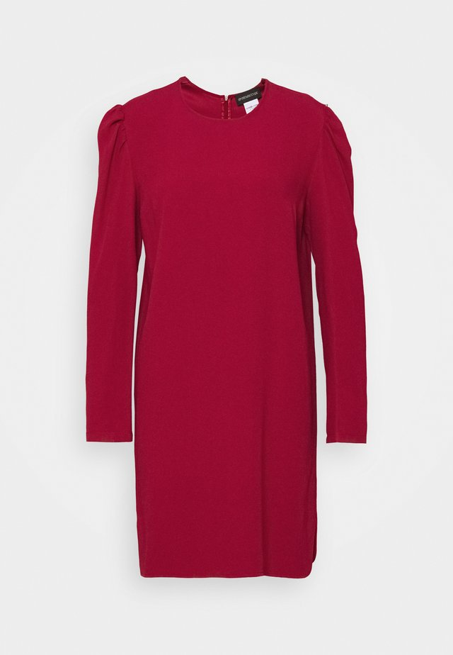 HARDEN - Korte jurk - kirsche