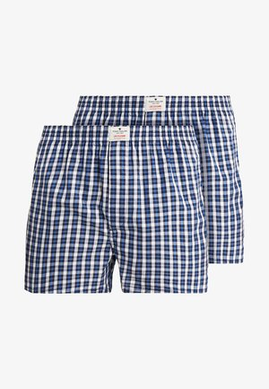 WESTSIDE 2 PACK - Boxer shorts - dark blue/white/blue