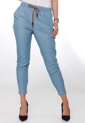 GLENDALE - Trousers - sky blue