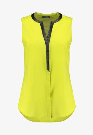 Blouse - dark yellow