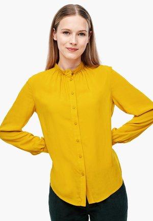 Button-down blouse - curcuma