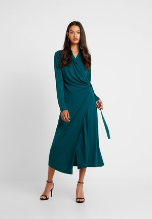 VIVILC WRAP DRESS - Trikoomekko - sea green